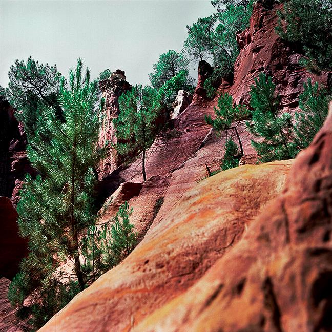 colorado provencal rustrel serie photographique