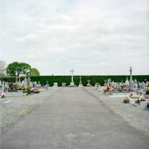The Christian cemetery of Plestan, Brittany