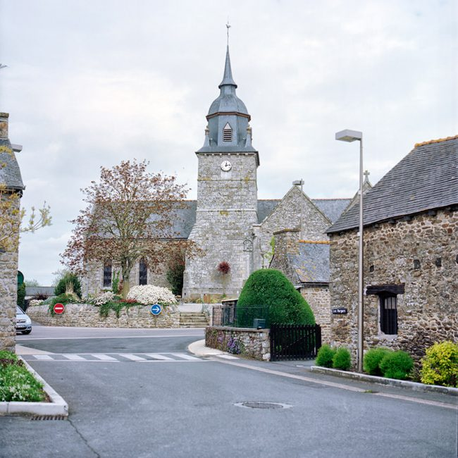 The Catholic church in Plestan, Brittany