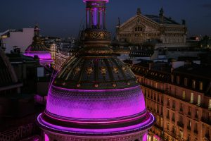View of the Paris Opera from the Printemps Haussmann's Terrace.