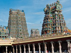 Exuberance of the Meenakshi temple of Madurai, South India