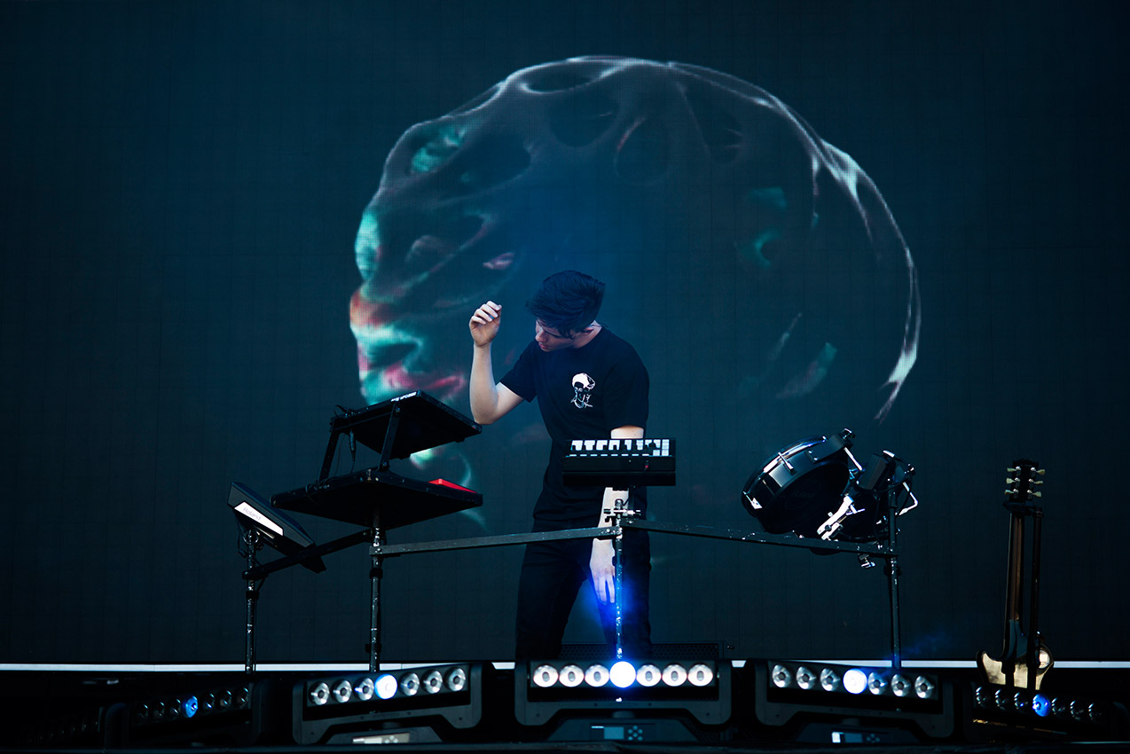 Petit Biscuit on stage 2
