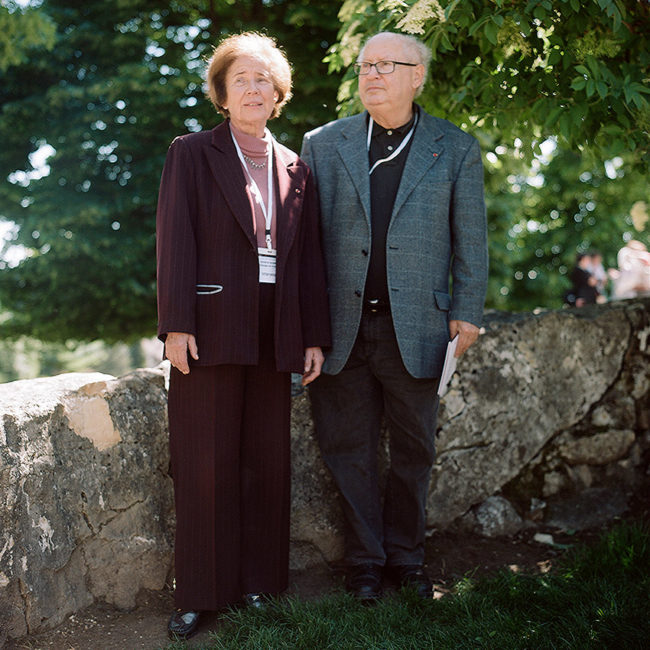 Portrait of Beate and Serge Klarsfeld