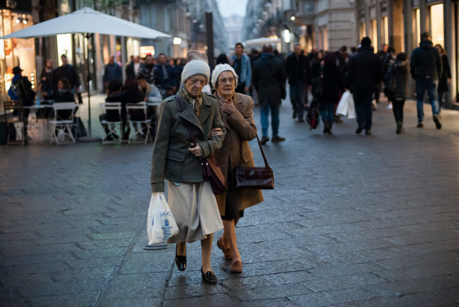 street photography in Turin