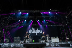 The Stranglers on stage