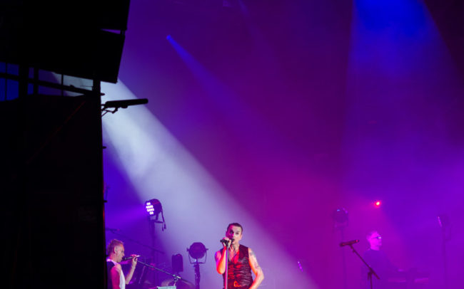 Depeche Mode Jr on stage