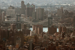 Lower East side, Manhattan bridge et Dumbo.