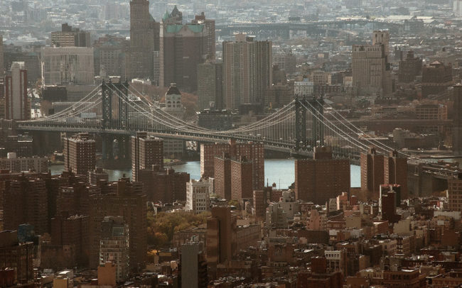 Lower East side, Manhattan bridge et Dumbo.