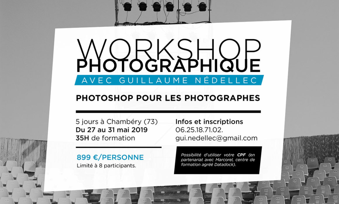 workshop photoshop photographe chambery