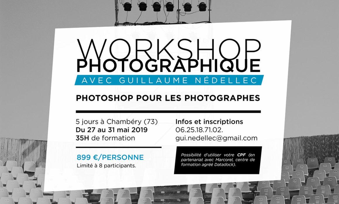 workshop photoshop photographe chambery
