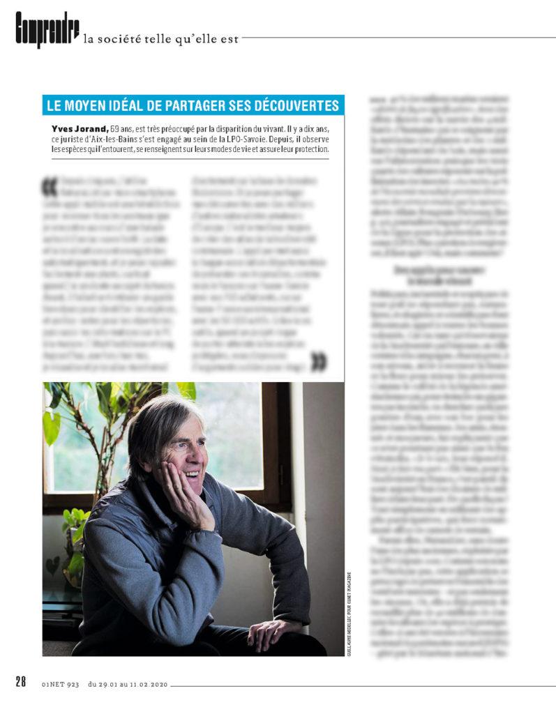 portrait Yves Jorand 01NET magazine