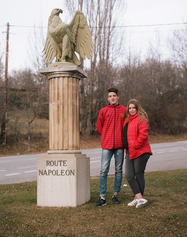 la route napoleon un tramway nomme souvenir
