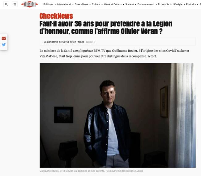 Liberation - Portrait de Guillaume Rozier